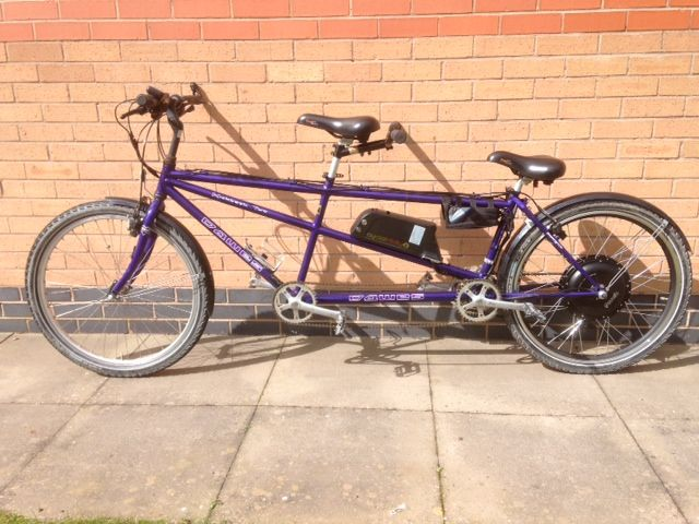 Dawes Kickback Tandem Electric Bike Conversion Electric Bike Kits Electric Bike Conversion Bike Kit
