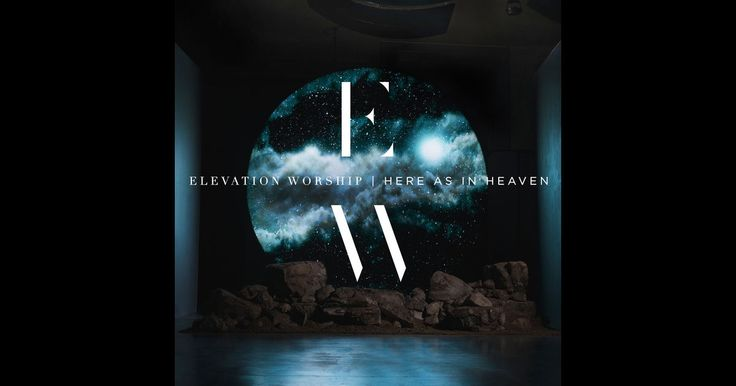 Here as in Heaven by Elevation Worship on CD for listening in the car