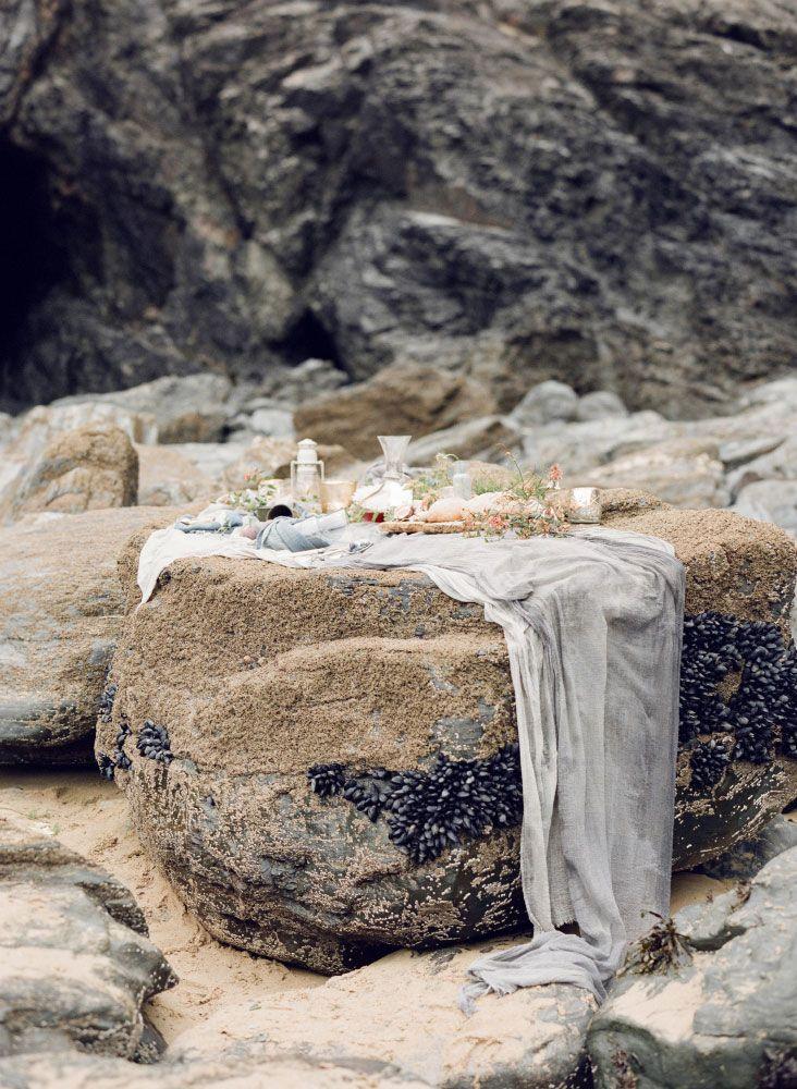 Fine Art Film Photography Taylor & Porter Best At Dusk Beach Wedding Coastal