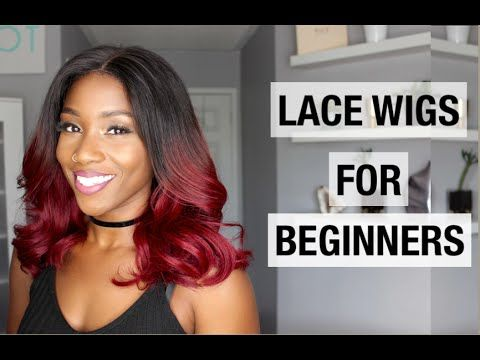 HOW TO WEAR A WIG FOR BEGINNERS WITH MYFIRSTWIG.COM | FALL HAIRSTYLES 2016 - YouTube