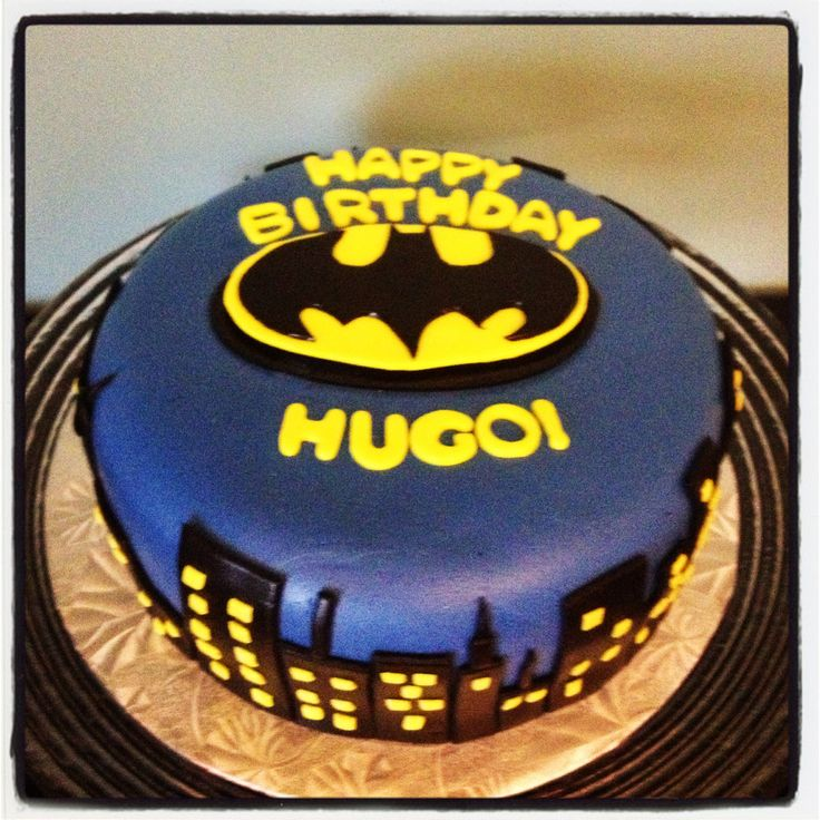 Batman Cake Made By FROSTED