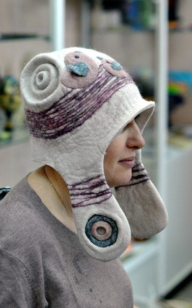 Awesome felted hat!