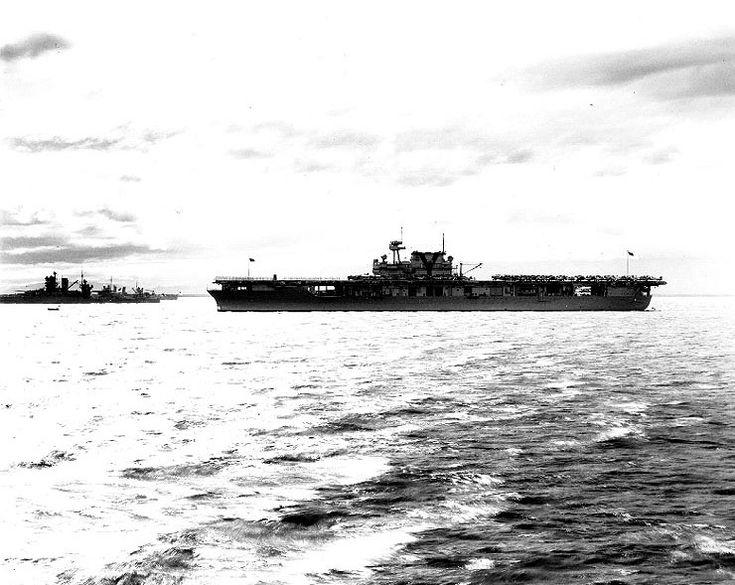 February 23, 1939: USS Yorktown CV-5 at Gonaives, Haiti.