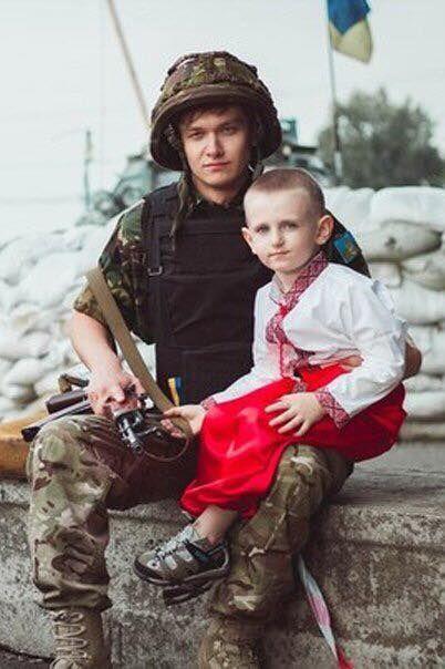 Отец передал мне эту землю с Крымом и Донбассом. И я продолжу эту традицию со своим сыном.