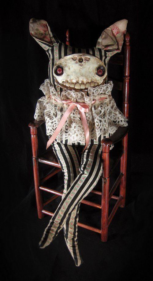 Страшные куклы от Amanda Louise Spayd