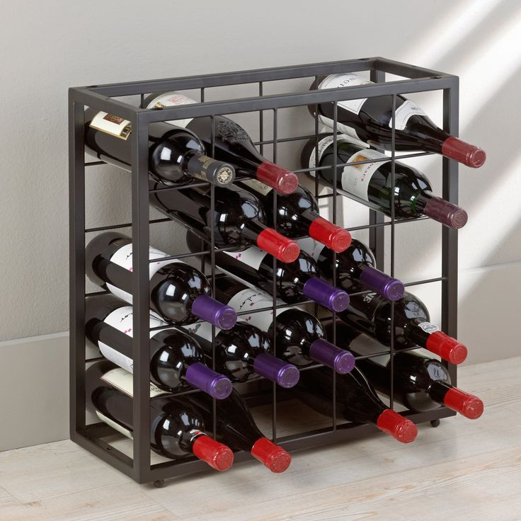 Guildwood 25 Bottle Floor Wine Rack