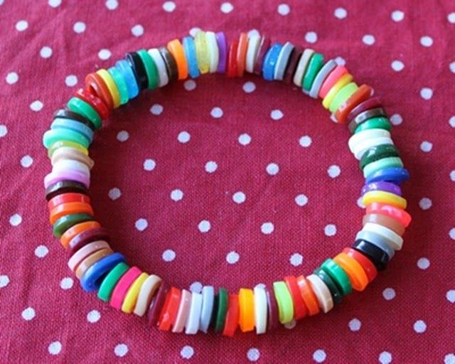 Nye perleformer ud af rørperler – armbånd, halskæder mm.