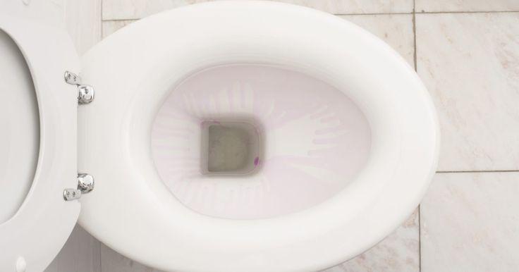Cómo quitar los anillos marrones y manchas de la taza del inodoro