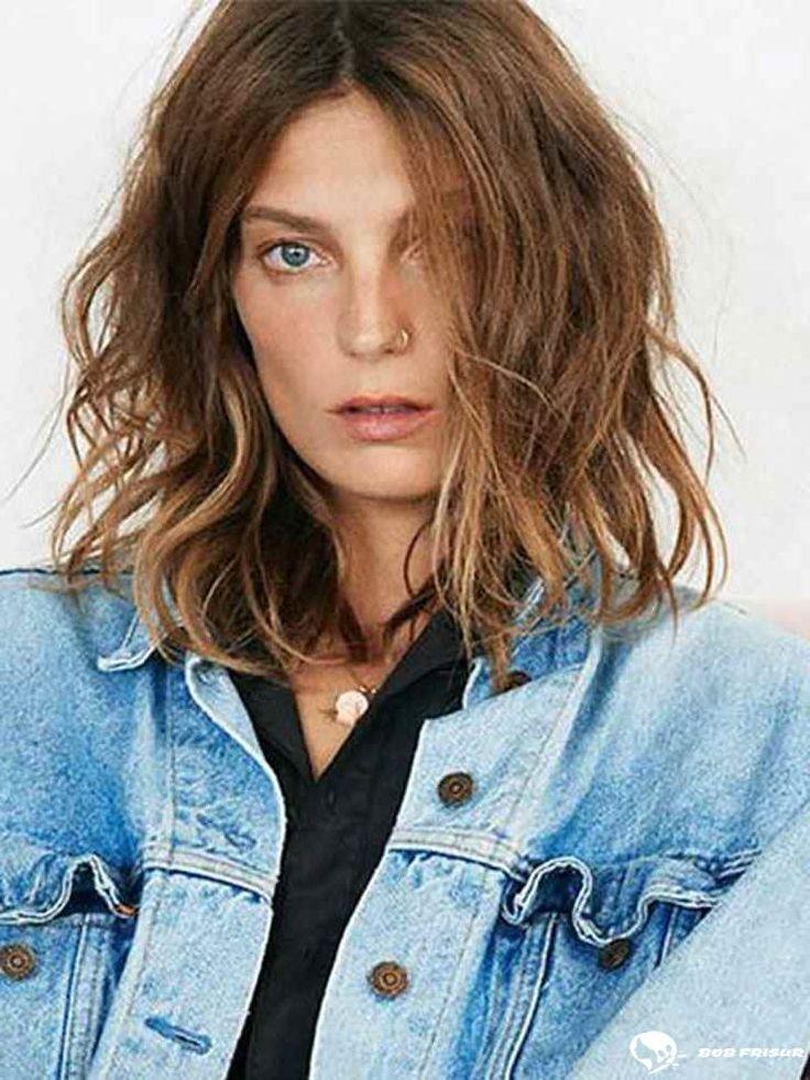 15 Attraktive, kurze, wellige Frisuren, die Köpfe drehen werden Überprüfen Si…