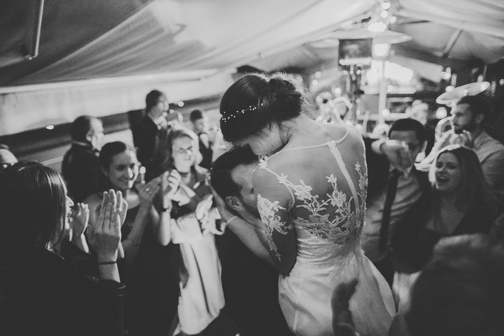 Decolove Ariane Beaded Bridal Halo on another happy bride
