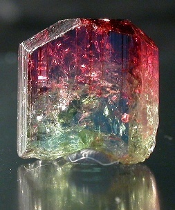 Watermelon tourmaline. When cut a certain way...looks like a watermelon. Either way...awesome.