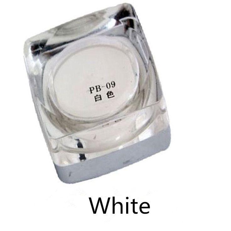 Пигмент татуировки Белый Цвет 15 мл/бутылка PCD Высокое Качество Перманентный Макияж Пигмент Для Бровей Тушь Набор Для Microblade Бровей