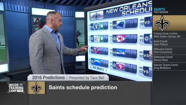 Win 4 of their first 5 games? Including one against the Carolina Panthers?  2016 New Orleans Saints Schedule Prediction