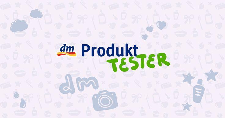Gehöre zu den ersten, die neue Produkte ausprobieren und bewerten können. Einfach beim dm-Produkttester anmelden und keinen Test mehr verpassen.