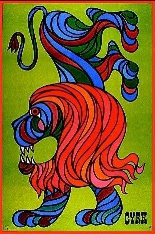 vintage polish circus posters
