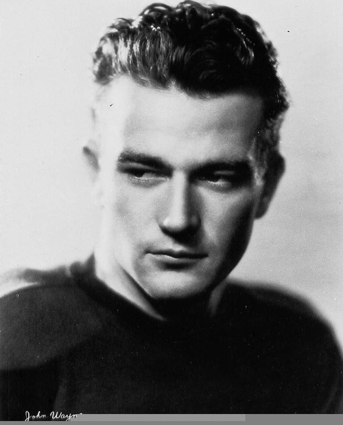 John Wayne....I had no idea he was such a hottie back in the day!!!