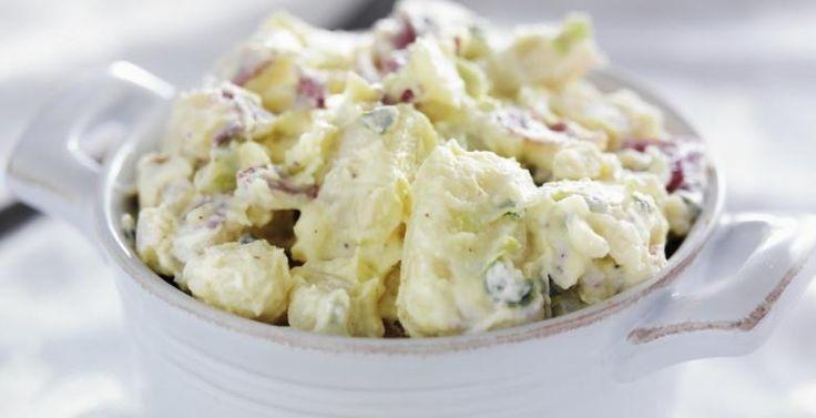 Salade de pommes de terre froide...Ranch et bacon - Recettes - Ma Fourchette