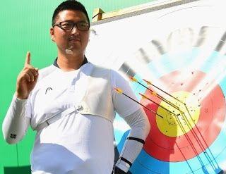 Blog Esportivo do Suíço:  Sul-coreano do tiro com arco quebra o primeiro recorde no Rio 2016