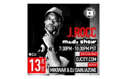 [Free Download + Video] J.Rocc Live on the MikiDz Show (90 min)
