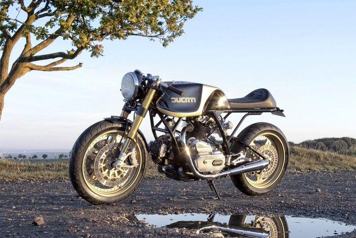 Tremenda la Ducati #caferacer de Rasio CC. Toda una obra maestra | caferacerpasion.com