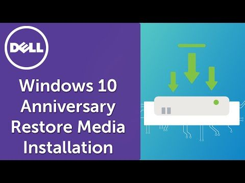 Learn how to install Windows 10 with USB flashdrive for Windows 10 Anniversary Edition. Use the USB media created to restore your system or to do a clean install. Source: Youtube