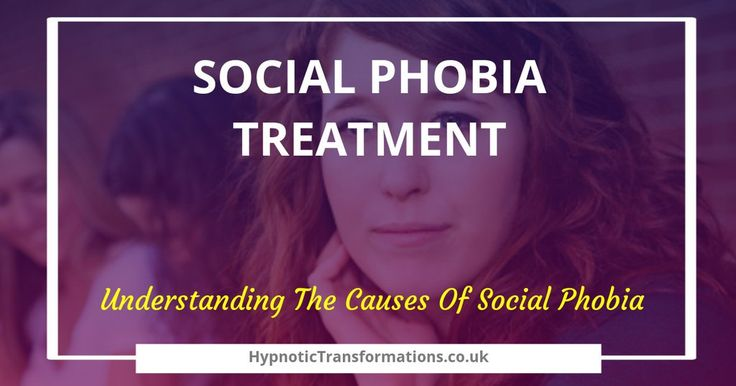 Understanding the causes of social phobia can be difficult.  You don't have to suffer on your own #socialphobia #socialanxiety