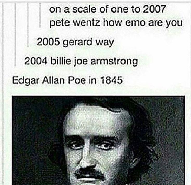 Image result for emo pete wentz gerard way meme