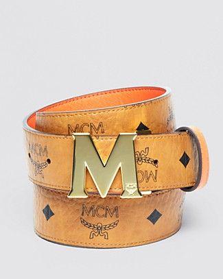 MCM Belt - Unisex Reversible   Bloomingdale's