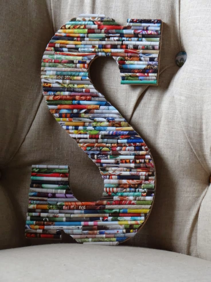The Art Of Up-Cycling: Upcycled Letters Ideas, Cool Alphabet Ideas.....