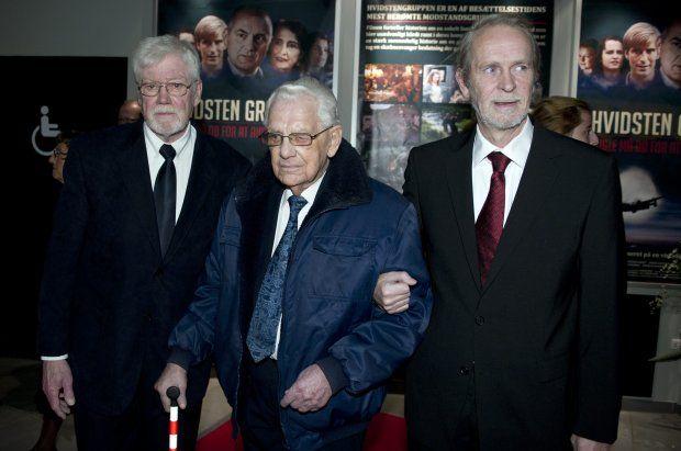 90-årig medlem af hvidstengruppen kommenterer filmen.