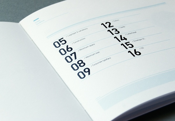 Giada by astronaut design , via Behance; great example for a table of contents!