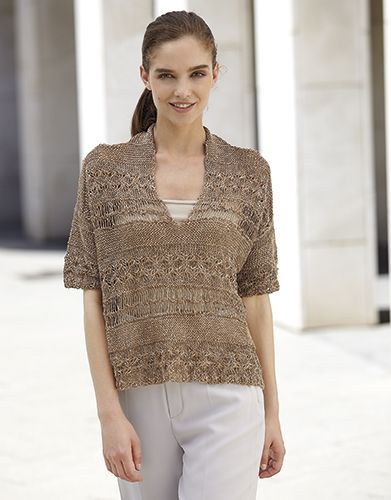 Book Woman Concept 3 Spring / Summer | 7: Woman Sweater | Beige-Off-white