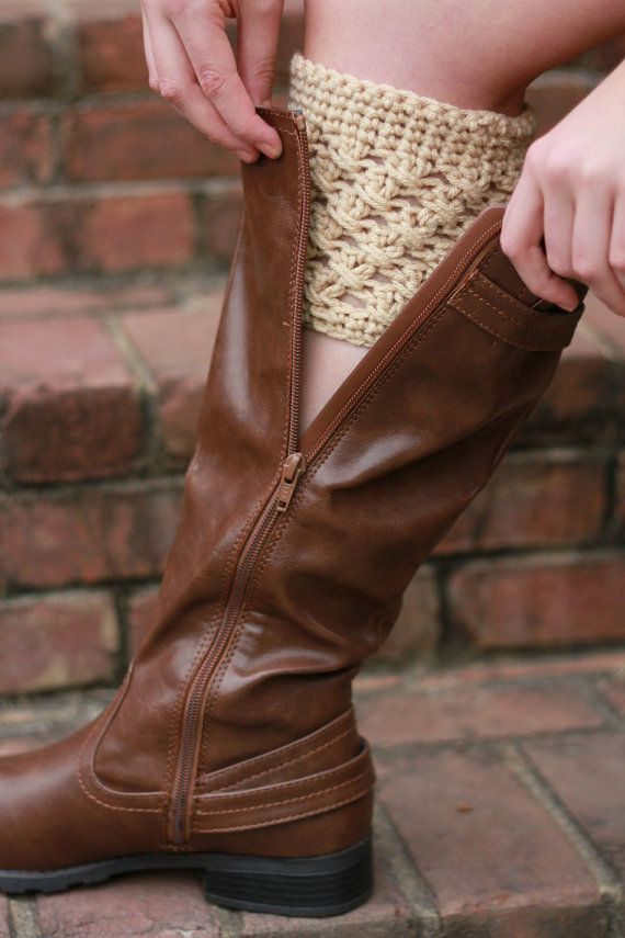 Crochet Boot Cuff for Women and Teens Boot Cuff Boot Topper