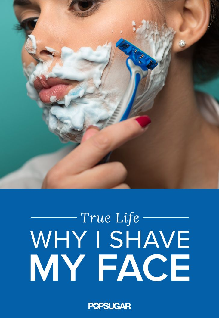 Would you shave your face? One woman reveals the benefits behind a close shave, including smoother, younger skin.