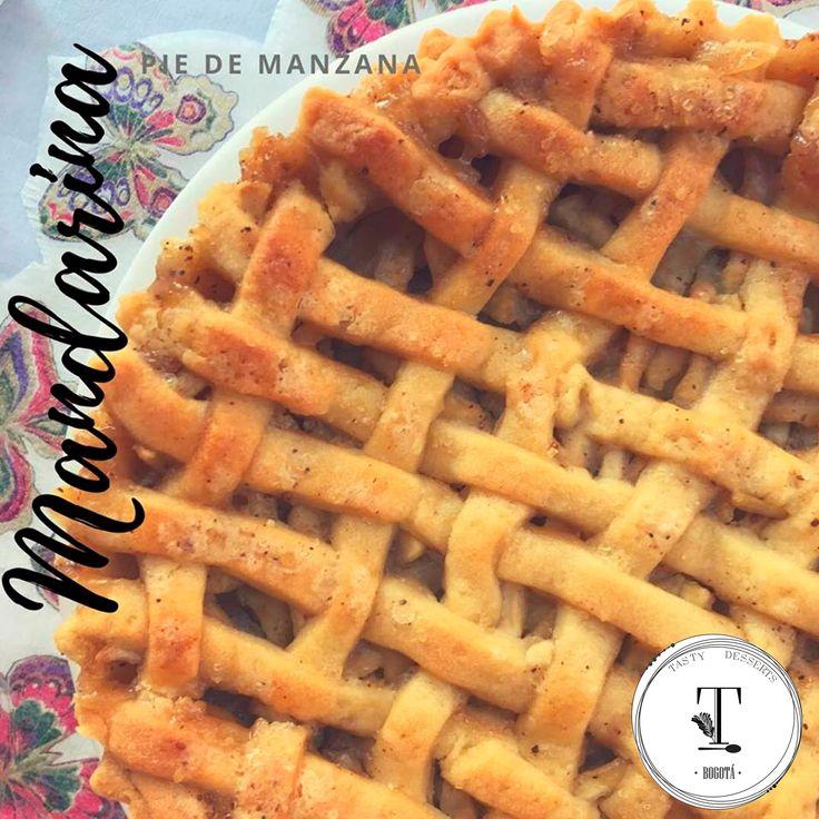 Mandarina  Pie de manzana