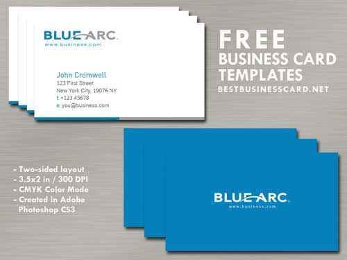 41 Best Blue Business Cards Templates Images On Pinterest Business