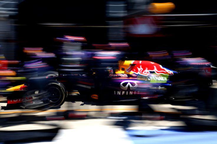 Sebastian Vettel in F1 Grand Prix of Great Britain