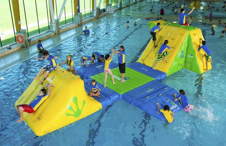 juegos acuáticos : parque AQUA STATION 10 Wibit Sports