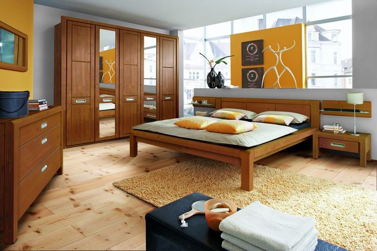 Schlafzimmer komplett Holz Erle Teil Massiv 3770. Buy now at https ...
