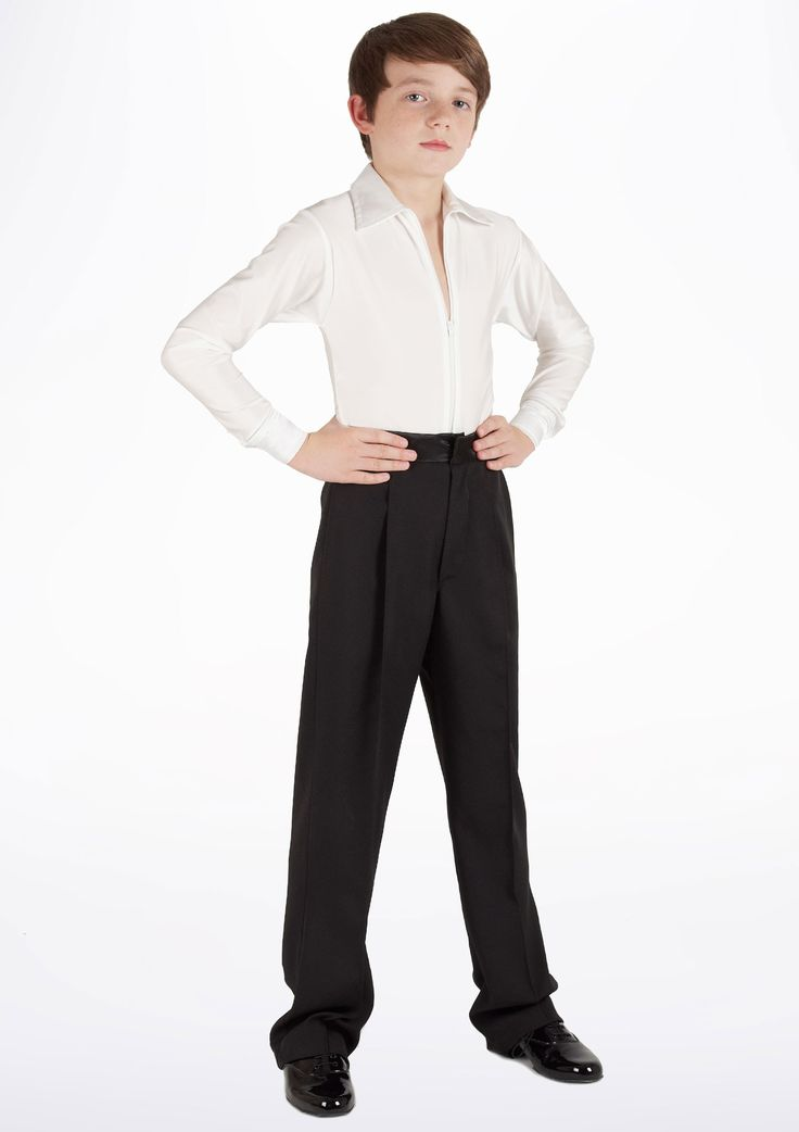 Pantaloni per sportivo da danza Ragazzi Move Javier Nero