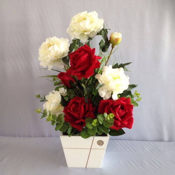 Arranjo Bouquet | Rosas Crisântemos