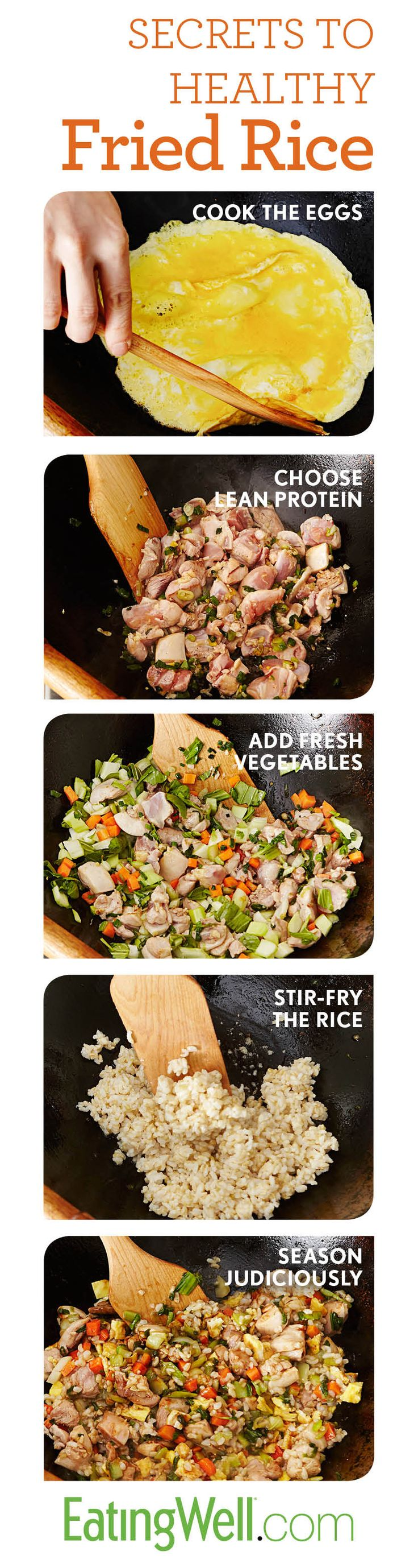 The only recipe you need for perfect easy, fast and healthy fried rice every time.