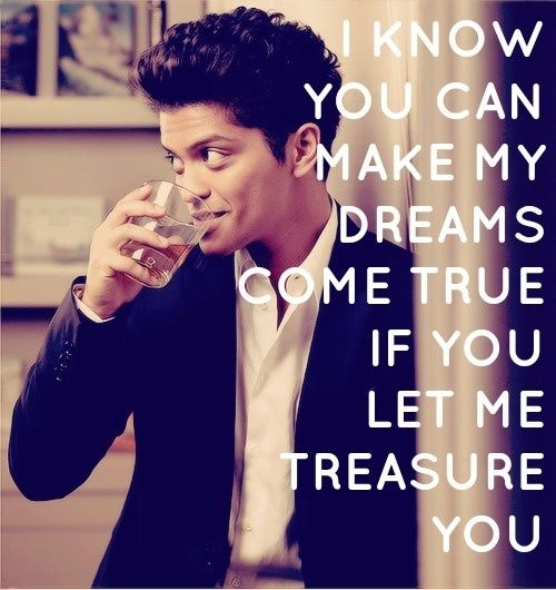 Here are the Top 10 Bruno Mars Songs as Chosen by Fans Treasure - Bruno Mars #lyrics