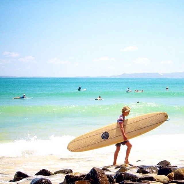 NOOSA • Love this Noosa pic by @myoceanbliss, thanks so much for letting us share. X Hope everyone had a fab weekend! www.tinystyle.com.au