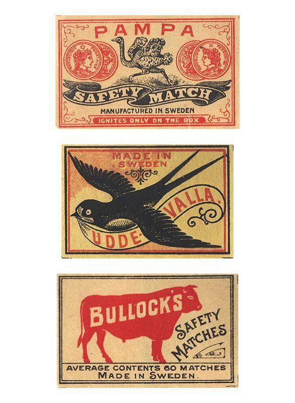 #Vintage #Matchboxes #matchbooks #matches