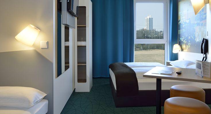 Familienzimmer für 3 Personen im B&B Hotel Köln-Messe