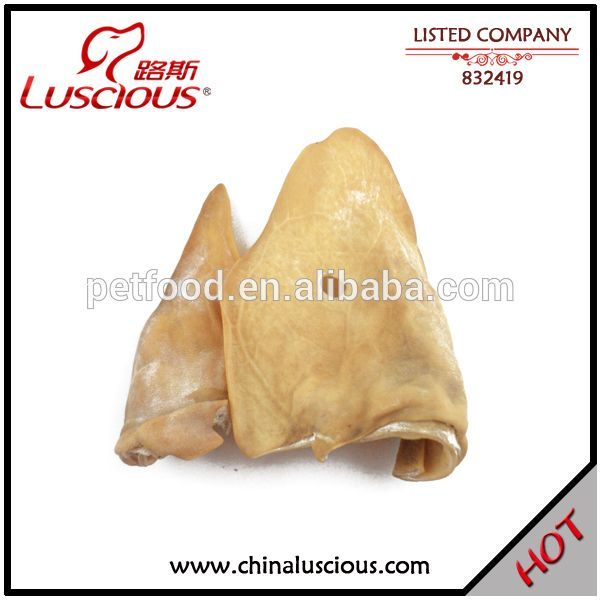 100% Dried Pigs Ears for Dogs