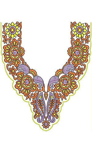 Moroccan Takchita Embroidery Design