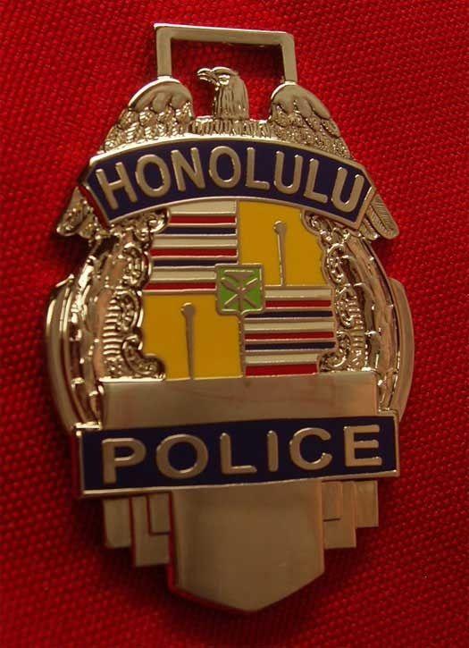 Honolulu Police Badge