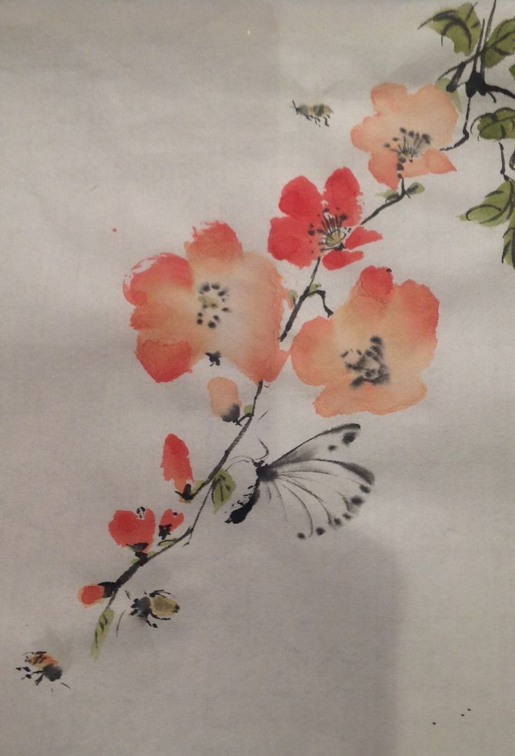 Drlolly's Flowers and butterfly on full absorbent King Wo from Man Luen Choon HK.
